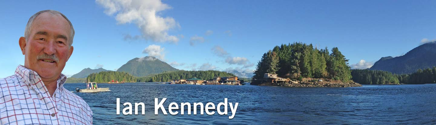 Ian Kennedy Author Courtenay BC